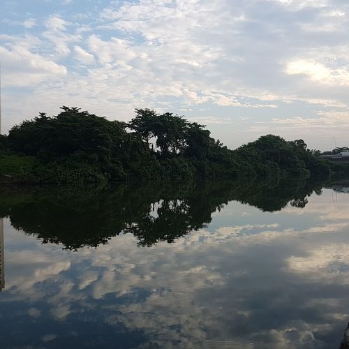 Reflection Cloud - Sky Water Water Reflection