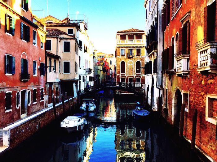 Canal Venice Venezia Architecture Italy