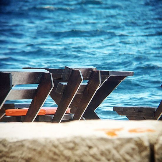Breathe in. It's coming... Summer is almost here Sea Bench Baylife Sunshine Bayofkotor