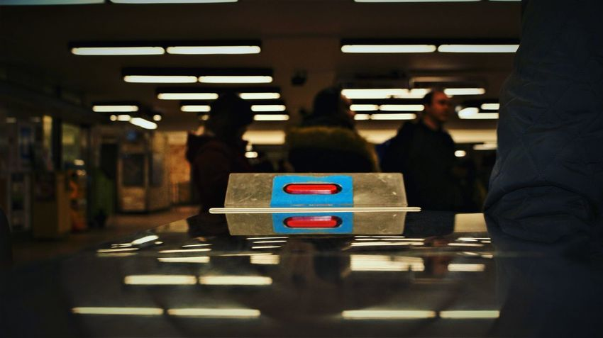 Metro atwater One Person Indoors  People One Man Only Adult Day Adults Only Close-up No People City Low Angle View Mode Of Transport Transportation Young Adult Adults Only Metro Metro Station Metro Photo Atwater