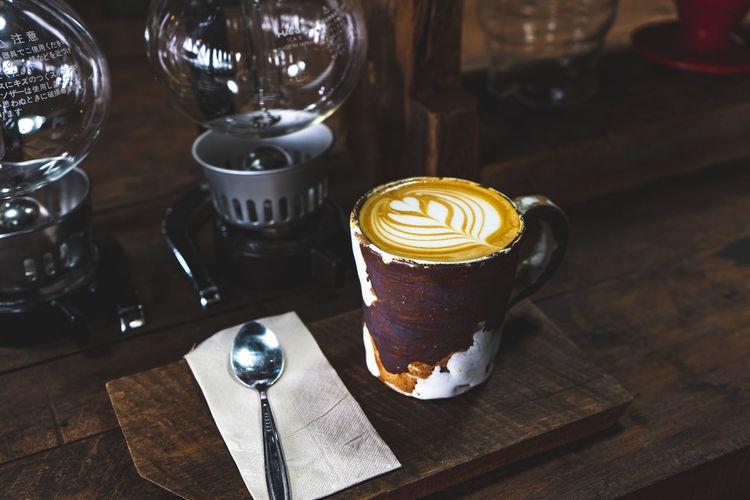 Latte art in