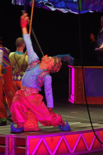 Performance Circusimages Ringling Bros Show Circus Multi Colored Clown Illuminated People And Places