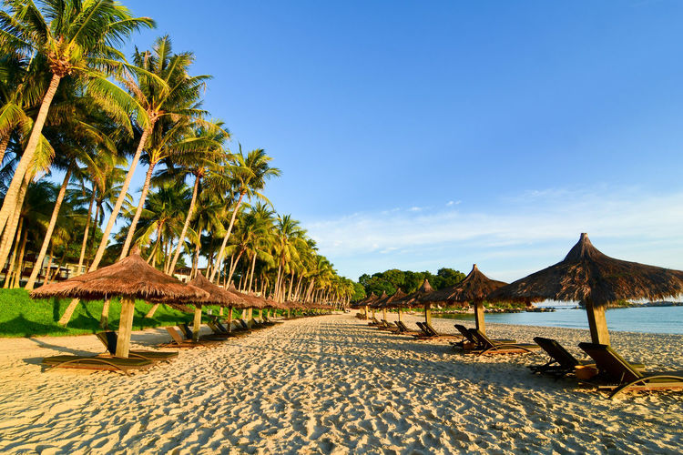 Beach resort in