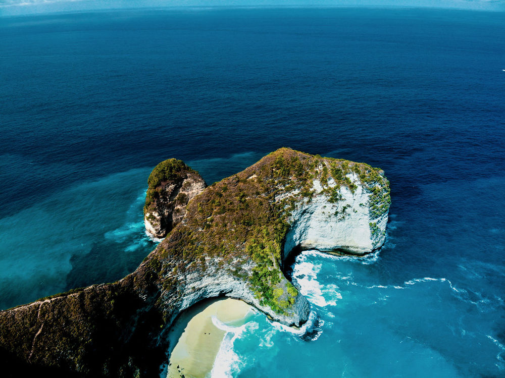 Drone  Beauty In Nature Blue Day Dronephotography High Angle View Horizon Horizon Over Water Idyllic Land Nature No People Outdoors Rock Rock - Object Scenics - Nature Sea Solid Tranquil Scene Tranquility Water