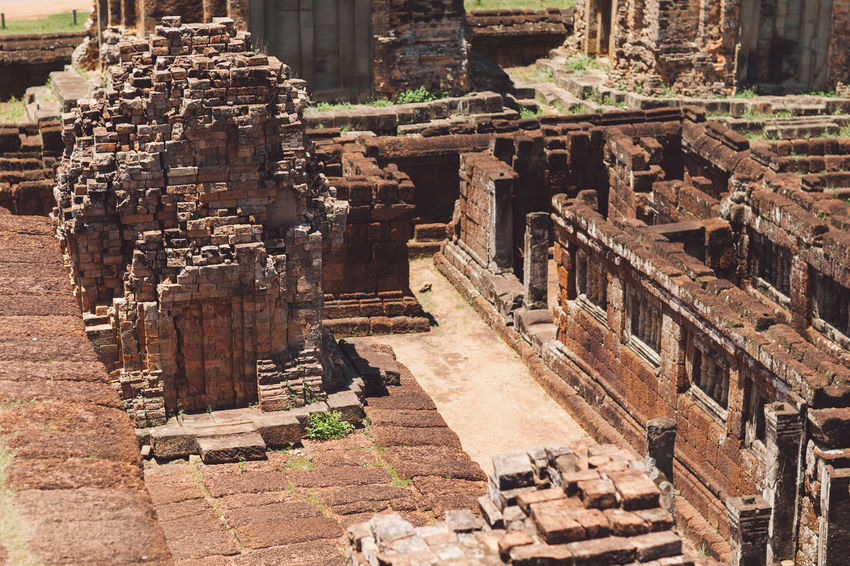Siem Reap Cambodia Angkor Architecture Built Structure Building Exterior History Ancient The Past Day Travel Destinations Old Religion Building Place Of Worship No People Tourism Travel Sunlight Belief Old Ruin Outdoors Ancient Civilization Ruined Archaeology