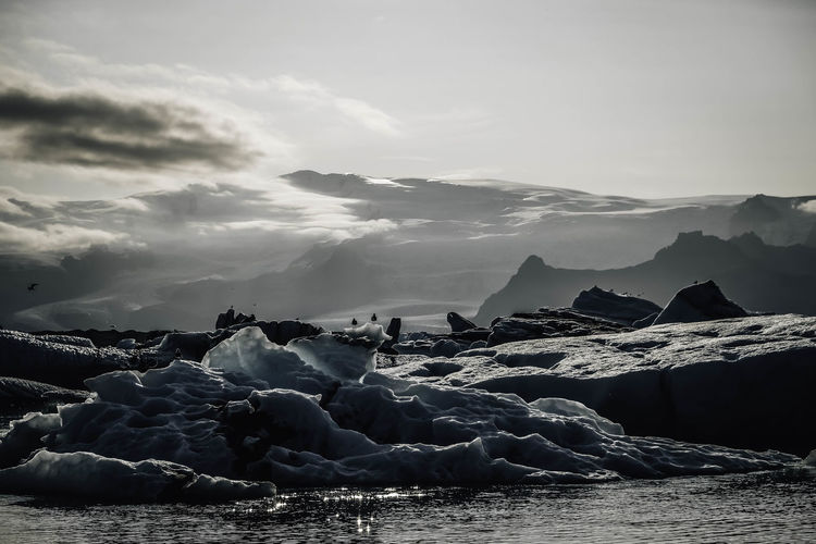 Glacier Lagoon 2017 Jökulsárlón Beauty In Nature Cold Temperature Glacier Glacier Lagoon Ice Iceberg Iceland_collection No People Perspectives On Nature