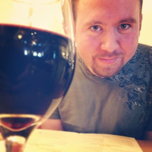 Some wine and lunch with the boyfriend! He's so pretty :) <3 Wine Boyfriend GayLove Olivegarden LunchTime