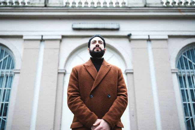 Welcome 🤵🏻 Handsome Man Wintertime Berlin Love Artistic Photo Welcoming Polite Model Young Man Dressed To Impress Dressed Up Looking Up Symmetryporn Symmetry Brown Coat Bearded Man Beard Men One Man Only Adult Only Men Beard Standing Males  People Portrait Adults Only One Person Outdoors Real People Young Adult