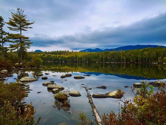 Maine, the way life should be 🌲 Maine Nature EyeEm Nature Lover Outdoors Hiking Adventure Reflection Natural Beauty Outdoor Photography Baxter Hikingadventures Afternoon Traveling Get Outside Admiring Nature's Beauty Nature_collection Nature Photography Pine Trees Pond Water