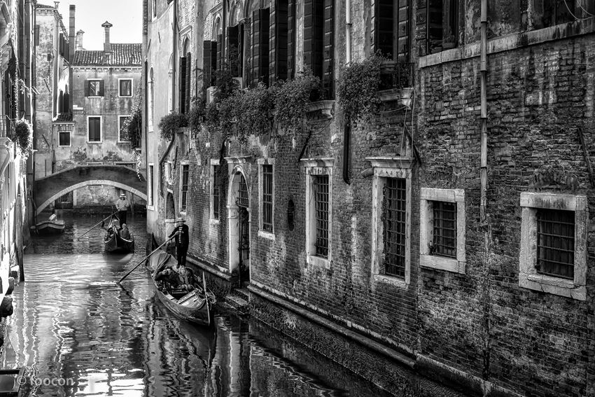 ... february blues Architecture Blackandwhite Canal Façade Italy Perspective Street Photography Streetphoto_bw Venice