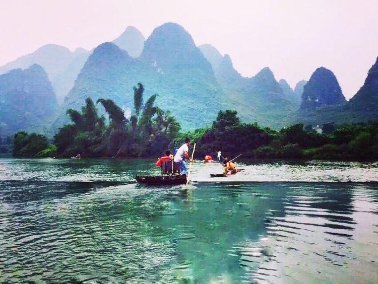 China Guilin,Yulong River Nature