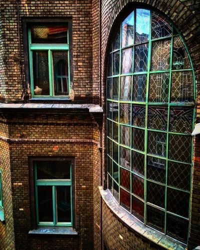 Budapest Ilovebudapest Spring Landscape Cityscape Urban Urbanscape Budapest100 2016budapest100 Architecture Art Reflection Ilovearchitecture Modern Modernarchitecture Design Abstract Art Ruined Glass Glasses Reflection Windows Blindwindow Blindwindows staindglass stained stainedglass bricks