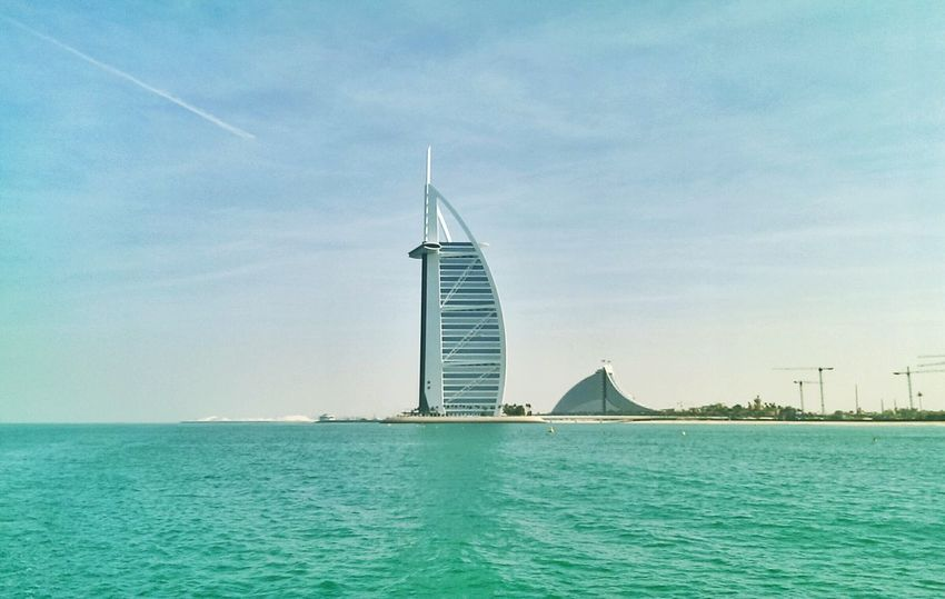 Good morning DxB , yacht trip through the marina till Atlantis Traveling Dubai Mycity Getting Inspired Hello World Turkey Cityescape Mydubai