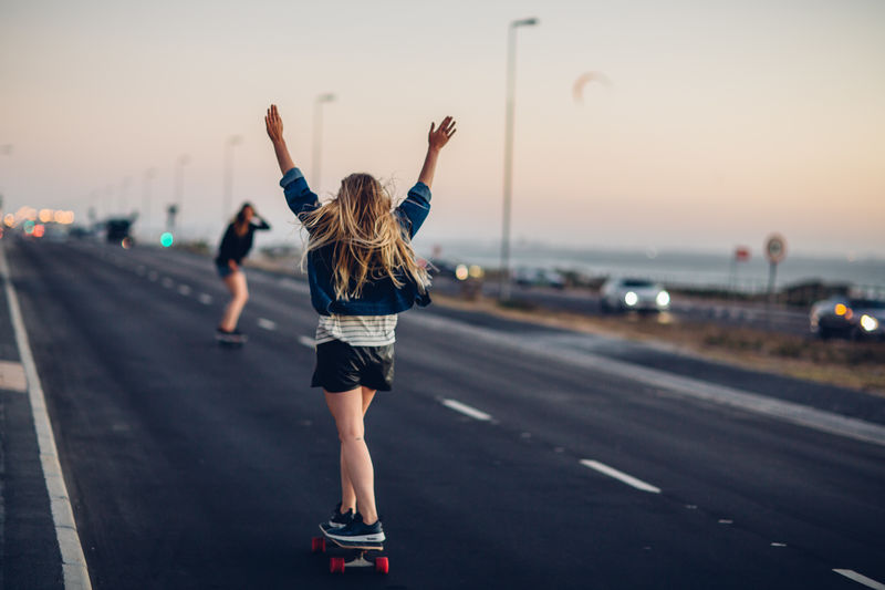 BloubergStrand Cape Town Dreaming Freedom Friends Nature Road Skateboarding South Africa Surfer Travel Wanderlust Woman Beach Beauty In Nature Bluehour Capetown Girls Goldenhour Outdoors Roadtrip Skate Sunset Windy Women