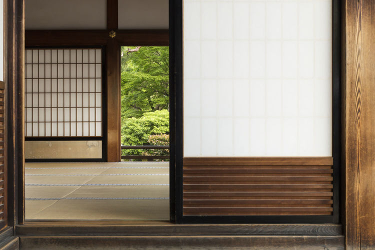 Interior of japanese home