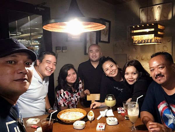 Menyambut Dape Mudik, Feb'18 SMP 41 Friends By ITag Mobile Upload-Me & Friends