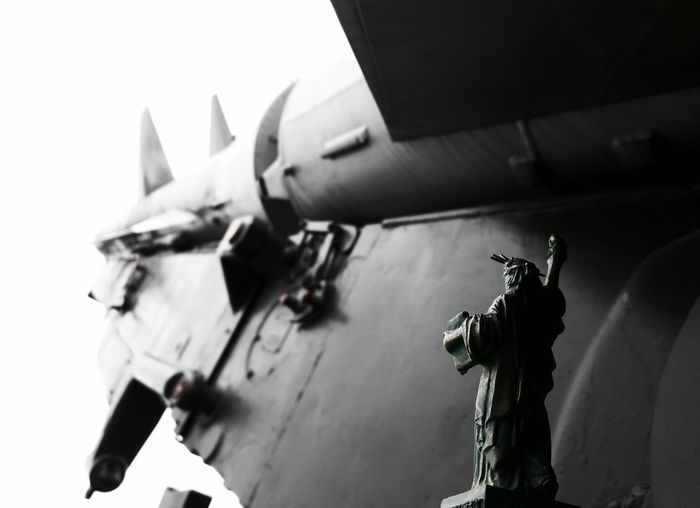 Liberty Statue Missile Missile Freedom