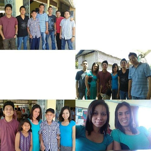 1st sunday 0f dEcember with them ♡♡ Family Bacuyani C0usins Papang church sunday 1stday0fdec guimaras ph @yvonesplace