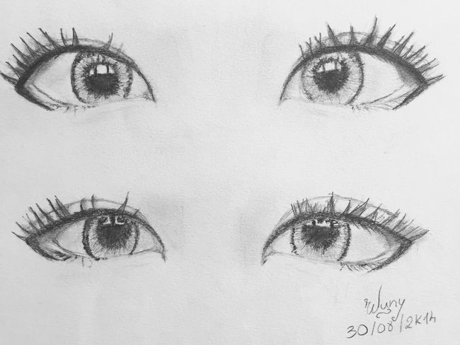 Drawing ❤️ Check This Out Enjoying Life Drawing Mine Dessin French Asian  Eyes Lovely Malagasy