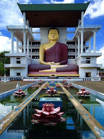 Sri Lanka Buddha Budhism Buddhist Temple Statue BIG Oversized Matara