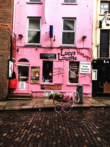 Building Exterior Architecture Built Structure City Outdoors No People Cobblestone Text Day Tattoo Shop Tattoo Parlour Quirky Exterior Dublin Dublin County Ireland Dublin, Ireland Dublin Street Photography Temple Bar Temple Bar District