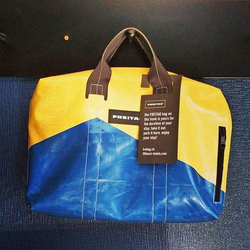 How many Minions had to die for this Freitag bag!? 😉