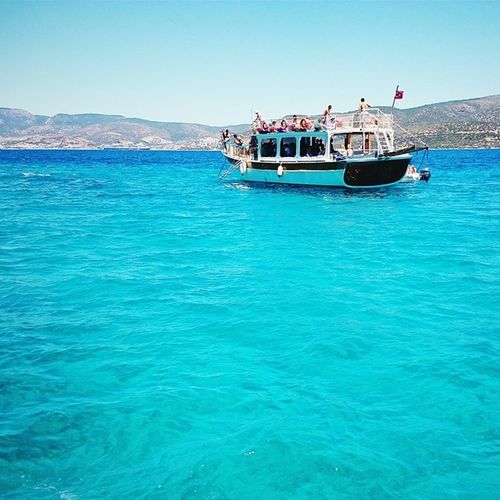 Vscocam Turkey Datça Bodrum MediterraneanSea Sea water tranquility ship