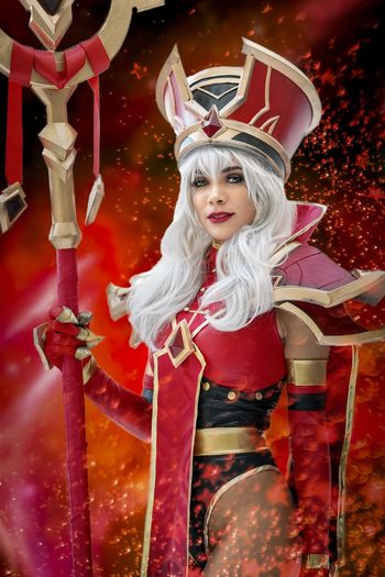 Katsucon 2019 Cosplaygirl Cosplayer Cosplay Katsucon 2019 Katsucon Portrait Costume Celebration Women Red One Person Looking At Camera Hair Smiling Young Women Beautiful Woman Leisure Activity
