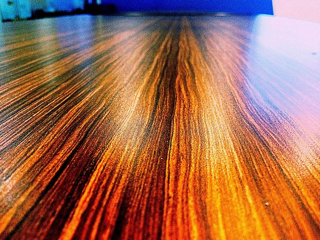 Hardwood Table. Indoors  No People Close-up Pattern Textured  Backgrounds Day