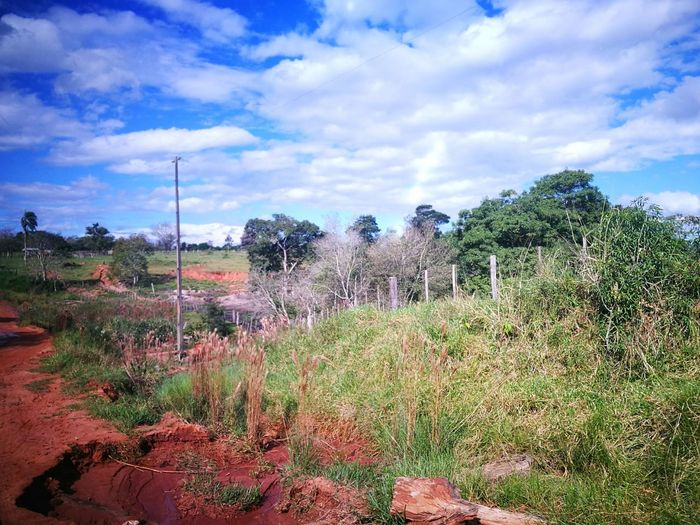 Ara Pyahu San Pedro Paraguay Cloud - Sky Sky Nature Outdoors Beauty In Nature Tranquility BellezaPura Paradise On Earth Peaceful Place Paradise ❤ Blue Sky And Clouds