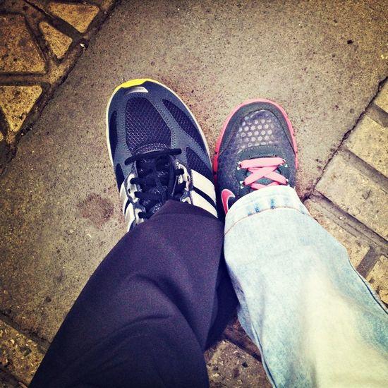 nike & addidas