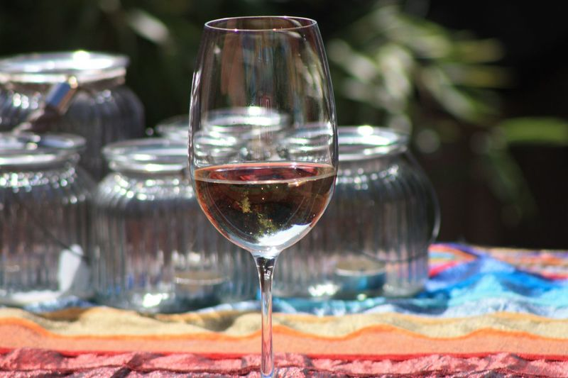 Summar Days Glass Wineglass Food And Drink Drink Refreshment Wine Alcohol Glass - Material Focus On Foreground Table Drinking Glass Close-up Freshness No People Still Life Tablecloth