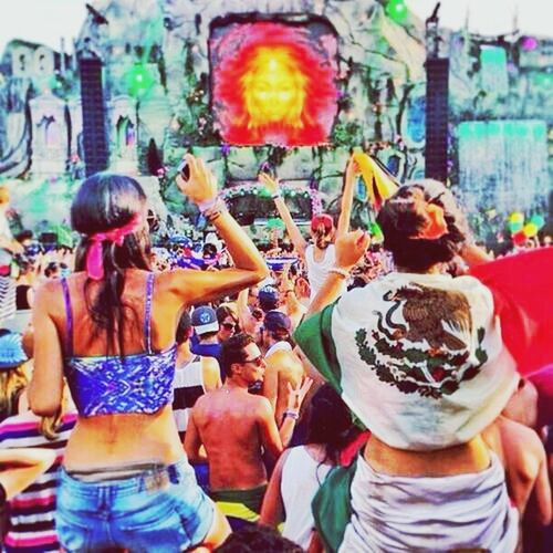 Tomorrowland What Hurts Today, Makes You Stronger Tomorrow. <3 Beautiful Mexico