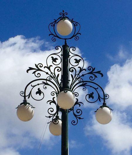 EyeEm Selects Laterne Wolkenhimmel Malta Daswasichsehe😊