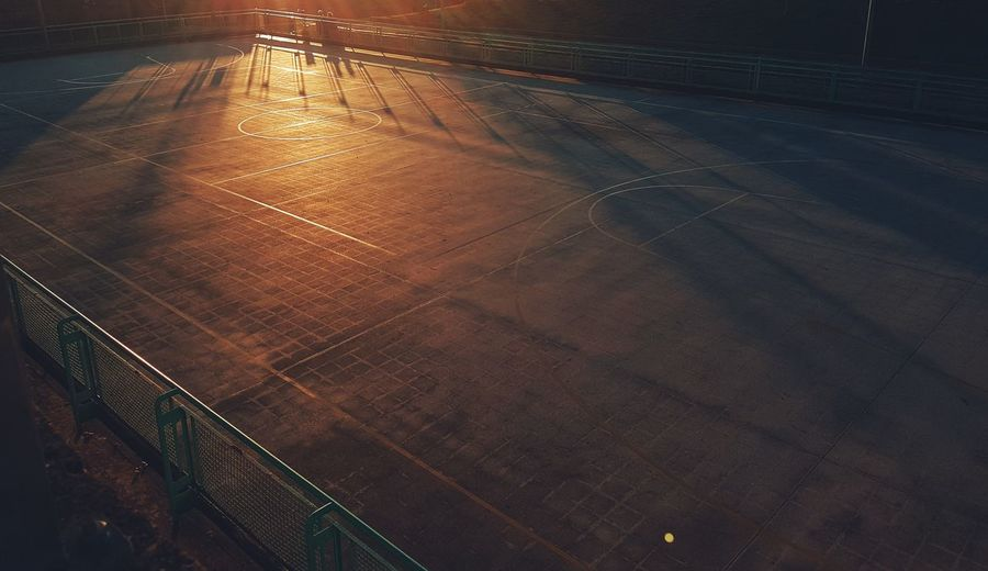 Everywhere Universal Basket Basketball Basketball - Sport Basketball Game Basketball Court Playground I Love This Game Sunset Sunset Silhouettes Warm Colors Night No People Outdoors City