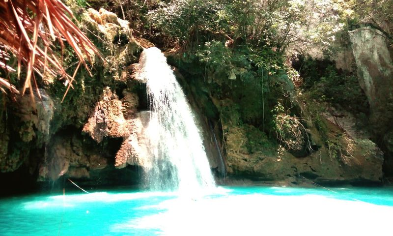 Enjoying Life Relaxing Check This Out Hanging Out Hello World Eyeem Cebu Cebu,Philippine Kawasan Falls