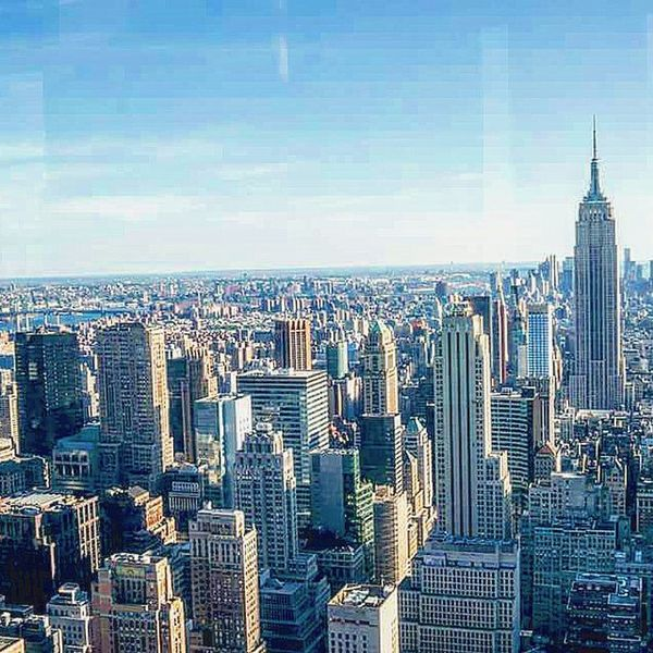 📷 🏧 Topoftherock Empirestatebuilding Bulding City Lovley  Newyork WOW View Perfect Cityneversleeps Picture Pic Tagsforlikes Like4like Likes Excellent Color Sky