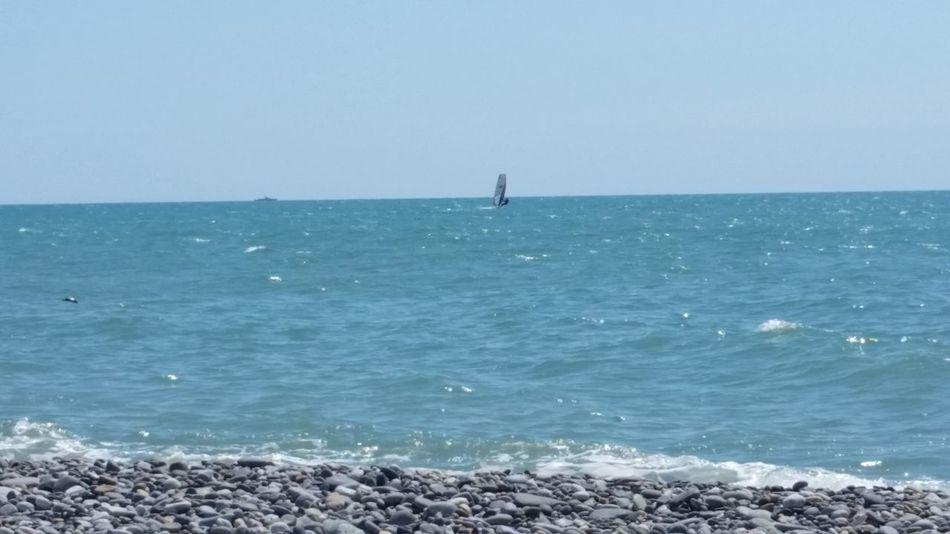 дагомыс Черное море пляж парус Blacksea Nature Sail