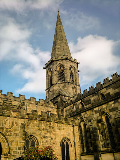 Bakewell Parish Church Architecture Bakewell Bakewell Parish Church Building Exterior Built Structure Cathedral Church Church Cloud Cloud - Sky Cross Famous Place History Low Angle View Old Place Of Worship Religion Sky Spirituality Tower Travel Destinations