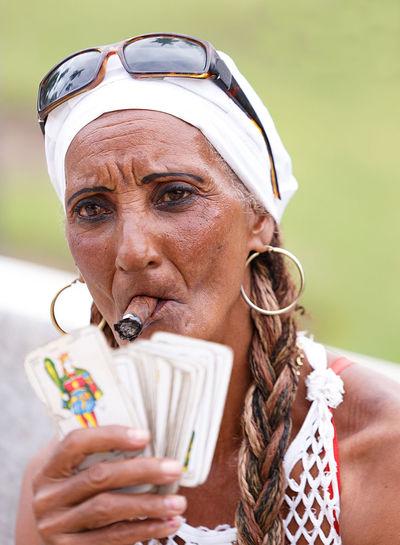 cuban woman