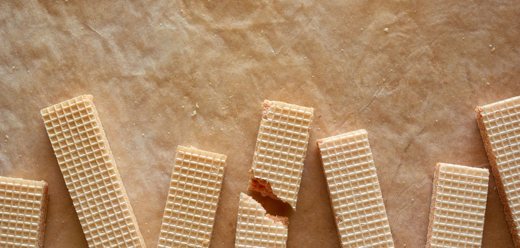 The wafer represents the collapse of the real estate business