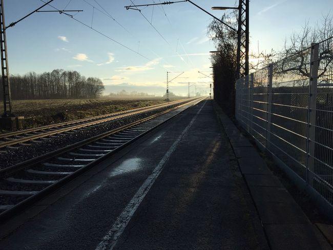 Railway Railwaystation Fog Foggy Morning Winter or Spring ? Picoftheday Photography