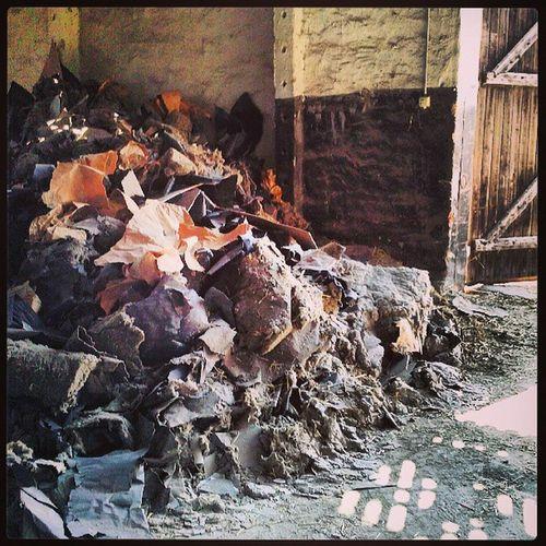Abriss Entkernung Asbest Juckjuck kaputtmachen mecklenburg neukloster instapic picoftheday aggressionen abbauen ;)