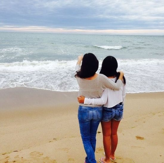 Beach Time Me&mysister :3