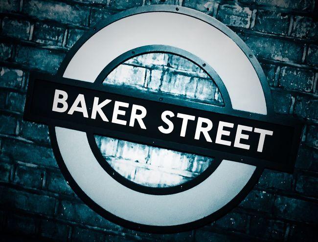 Baker Street Underground Bakerstreet Underground Sign IPhoneography Transportation London Lifestyle