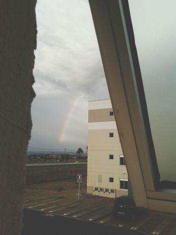 Rainbow Rain Sky