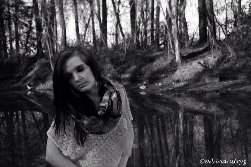 model name: brittany Taking Photos Evl_industryz Photography Black & White Modeling Shoot