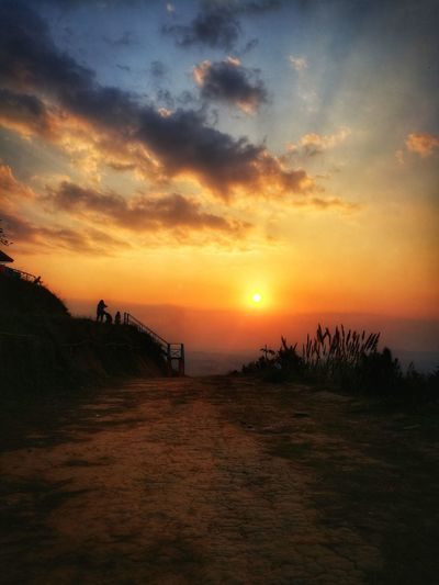 Sunset Travel Destinations Tree Nature Landscape Outdoors Vacations Sky Sea Scenics Water Beauty In Nature No People Milky Way First Eyeem Photo Thailand Nature Day Sunlight Shadow