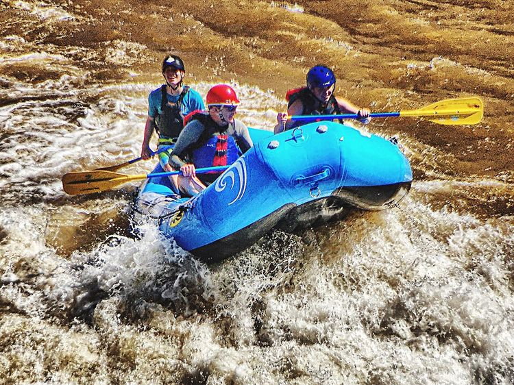 Shooting the Rapids River Rafting Rapids River #landscape #photography #nature Hanging Out Water Fun AdrenalineRush Going For The Gold
