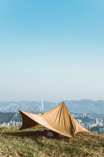 Tent Sky Nature